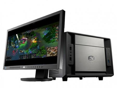 アーク、Cooler Master「Elite 120 Cube」採用ゲームCube型PC「CROYDON CY-IV2H77MI-C Hrotti」発売