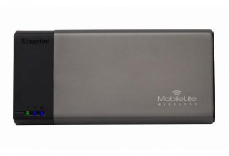 いざとなればバッテリーにも。USB&SDXC対応無線ストレージ「MobileLite Wireless」Kingstonから
