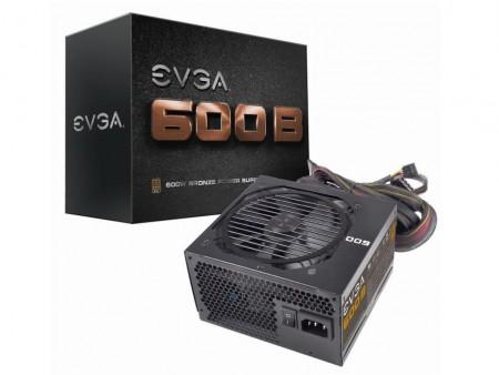 EVGA、コスパ重視の80PLUS BRONZE認証電源「EVGA 600B」70ドルで発売開始