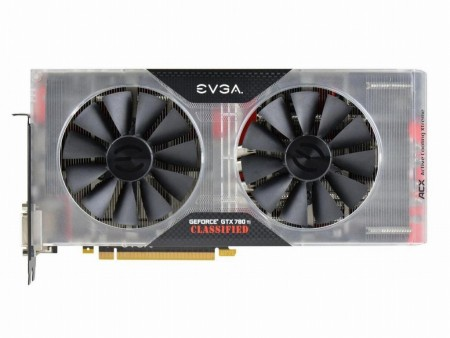 "極冷1.85GHz超えを狙う脅威の""究極OC版""「EVGA GTX 780 Ti Classified K