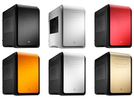 リンクス、6色カラバリのCube型MicroATXケース Aerocool「DS Cube Window」発売