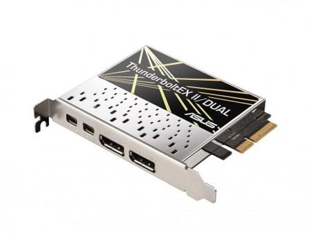最大転送20GbpsのThunderbolt 2ポート拡張カード、ASUSTeK「ThunderboltEX II」シリーズ