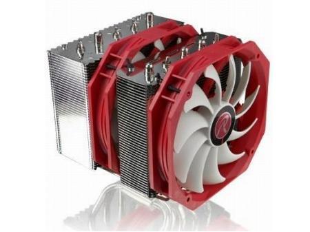 デュアルタワーヒートシンクを2基の140mmファンで冷やす「NEMESIS」RAIJINTEKから