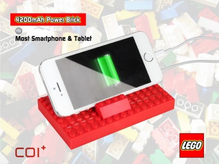 LEGOブロックでできたモバイルバッテリー「COI+ LEGO Power Brick」、Brandoにて予約販売開始