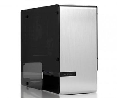 CFD、4mm厚アルミニウムと強化ガラス採用のMini-ITXケース In Win「IW-CF02(901)」