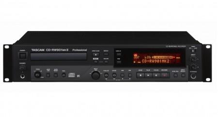 TASCAM、民生向けとしても活用できる高音質CDレコーダー/プレーヤー「CD-RW900MKII」など3種