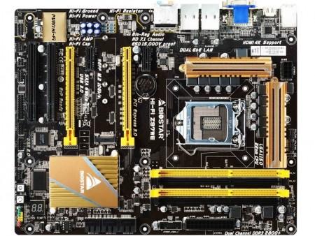 オーディオ回路充実のIntel Z79 Expressマザーボード、BIOSTAR「Hi-Fi Z97WE」