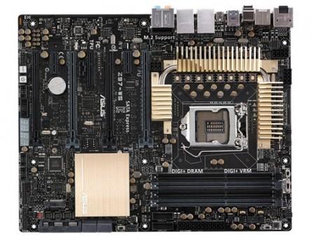 4-Way SLI/CrossFireサポートのZ97マザーボード、ASUS「Z97-WS」国内発売開始