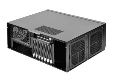 CFD、ATXサイズの横置きPCケース SilverStone「SST-GD09B」取扱開始