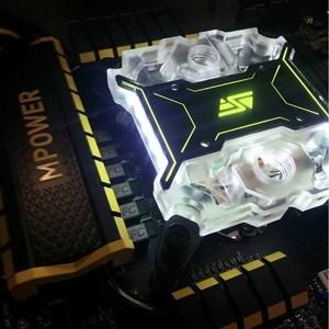 Swiftech、フラッグシップ水冷ヘッド「Apogee-XL」に妖しく光るシースルーモデルを追加