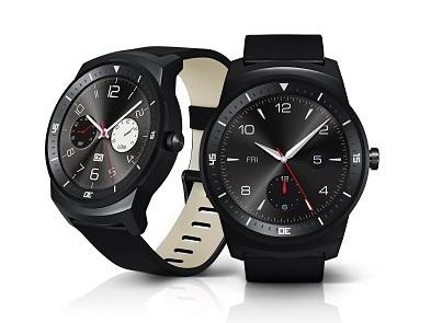 世界初、フル円形P-OLEDディスプレイ搭載ウェアラブル端末、LG「G Watch R」