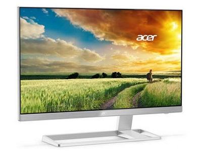 フレームレスデザイン採用の4K液晶ディスプレイ、Acer「S277HK」など2種リリース