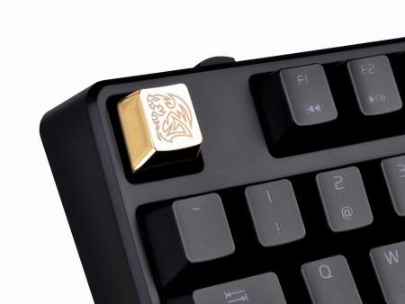 ジンク合金のCherry軸用キーキャップ「METALCAPS」に新作。光り輝くゴールド仕様が限定販売