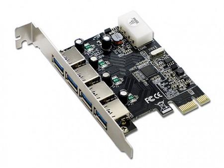 アイネックス、PCI-Express(x1)対応USB3.0増設カードが計4種発売