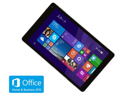 iiyamaPC、Windows 8.1搭載の8型タブレット発売 ~先着1,000名に32GB microSD進呈~