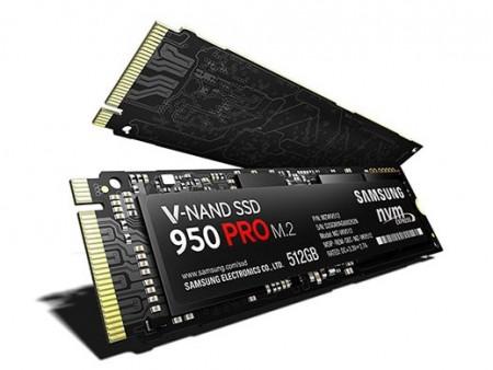 日本サムスン、NVMe対応M.2 SSD「SSD 950 PRO」とエントリー向け「SSD 750 EVO」11月下旬発売