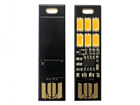 アイネックス、USBポート直挿しのタッチセンサー&照度センサー搭載LEDライト2モデル