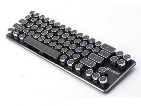 初日でクラウドファンディング目標額達成。台湾Lexkingのタイプライター風メカニカルキーボードに注目