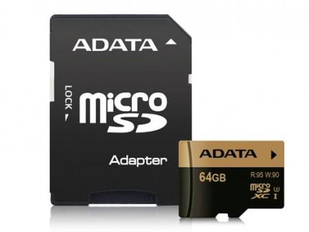 ADATA、MLC NAND採用の高品位microSDカード「XPG/Premier Pro」シリーズ2月中旬発売