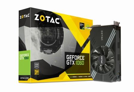 ZOTAC、Mini-ITXサイズの3GB版GeForce GTX 1060「ZOTAC GeForce GTX 1060 Mini 3GB」