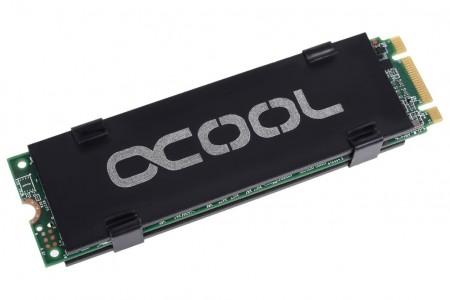 Alphacool、M.2 SSDに対応するクランプ固定式ヒートシンク「Alphacool HDX」発売