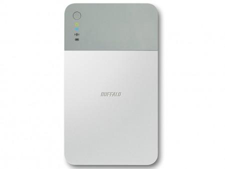 スマホ・タブレットからアクセスできるWi-Fi対応ポータブルHDD、バッファロー「HDW-PDU3-C」