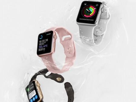 水深50m対応の完全防水でGPS内蔵、Apple最新スマートウォッチ「Apple Watch Series 2」デビュー