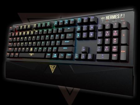 GAMDIAS、1,680万色のRGBイルミネーション&ゲーミング機能全部入りキーボード「HERMES P1」リリース