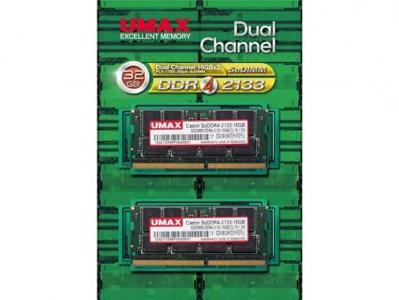 UMAX、JEDEC準拠のDDR4-2133MHz SODIMMメモリ、4GB~32GBまで計4種発売