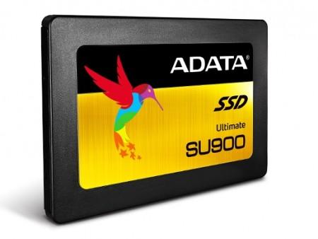 最大2TBをラインナップする、3D MLC NAND採用のSATA3.0 SSD「Ultimate SU900」がADATAから