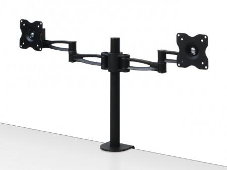 「フリーアングルアジャスター」対応の多関節モニターアーム「鉄腕」シリーズ3種、センチュリーから
