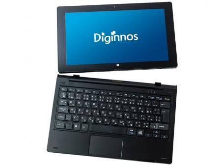 売価3万円台からの11.6インチ2-in-1タブレットPC、ドスパラ「Diginnos DG-D11IWV」シリーズ