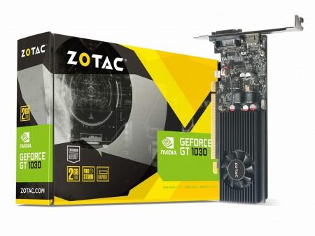 ZOTAC、ロープロ対応&電源不要の最新エントリーグラフィックス「ZOTAC GeForce GT 1030 2GB GDDR5」
