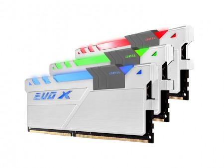 マザーボードのRGBコントロールに対応するDDR4メモリ、GeIL「DDR4 EVO X」シリーズ