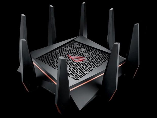 64bitクアッドコアSoC搭載のトライバンドゲーミングルーター、ASUS「GT-AC5300」