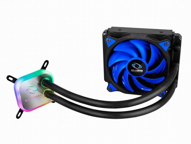 RAIDMAX、リモコンで操作できるRGB対応のオールインワン水冷「COBRA120 RGB」&「COBRA240 RGB」