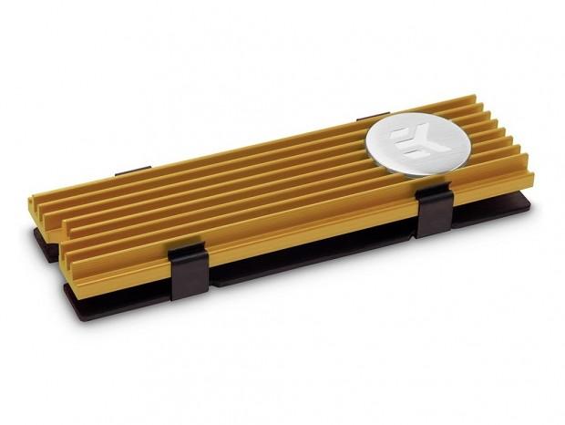 EK Water Blocksのクリップ式M.2 SSDヒートシンクにカラフルな5色のカラバリ追加