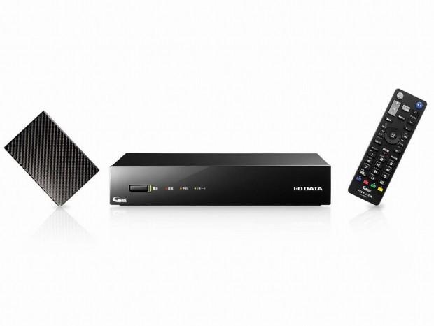 1TBで約1,090時間の録画ができる3番組対応HDDレコーダーがアイ・オー・データから