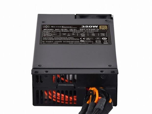 フルロード24時間連続稼働に対応。Flex ATXのGOLD認証電源、SilverStone「SST-FX350-G」
