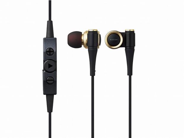 エレコム、ハイレゾ相当で再生できるLDAC対応の高音質Bluetoothイヤホン「LBT-HPC1000」