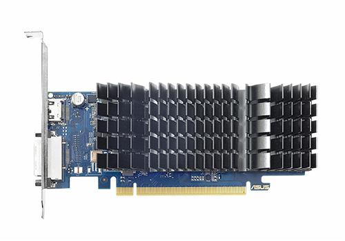 GDDR4メモリ搭載のファンレスGeForce GT 1030、ASUS「GT1030-SL-2GD4-BRK」