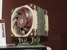 【COMPUTEX】Noctua、集大成ファン「NF-A12x25」を搭載した次世代サイドフロー発表