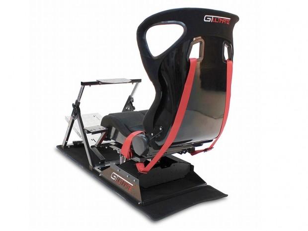 レース中のGフォース&縁石越えの衝撃を再現、可動式シートのシミュレータが約55万円で発売