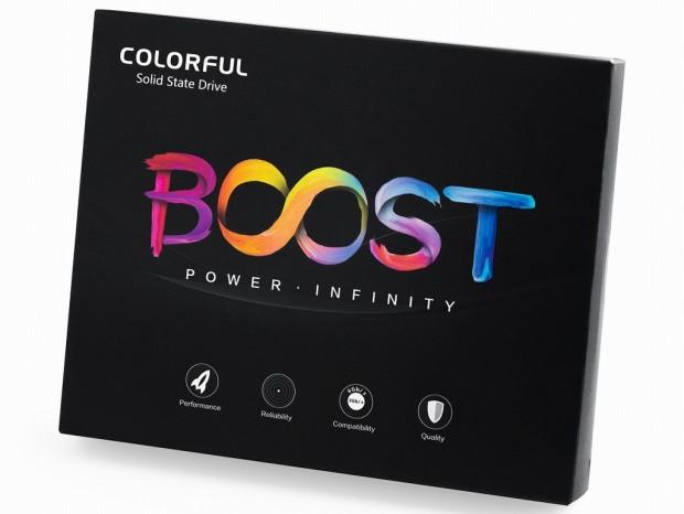 1GBキャッシュとIntel純正3D MLC採用のSATA3.0 SSD、Colorful「SL500 1TB Boost」