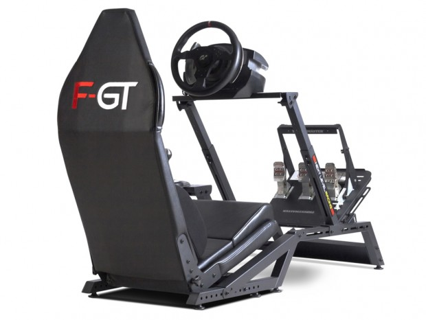 フォーミュラーカーとGTカーのシートポジションを再現するレーシングシミュレータ