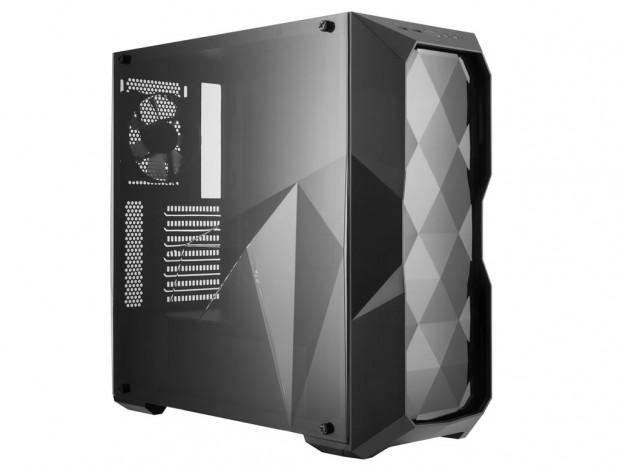 3Dダイヤモンドカットデザイン採用ケース、Cooler Master「MASTERBOX TD500L」
