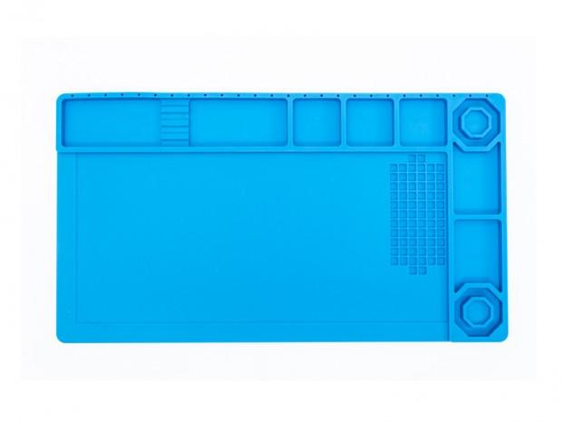 上海問屋、ネジや工具の整理もできる「耐熱・断熱 シリコン作業マット」発売