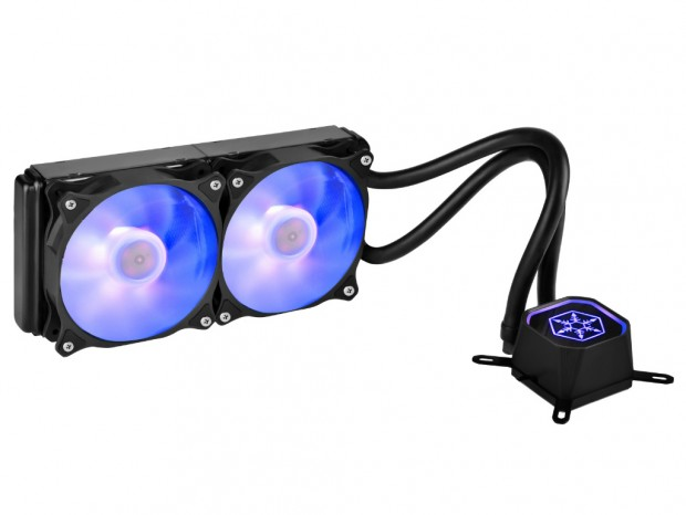 RGB LED対応のオールインワン水冷ユニット、SilverStone「TD-RGB」シリーズ