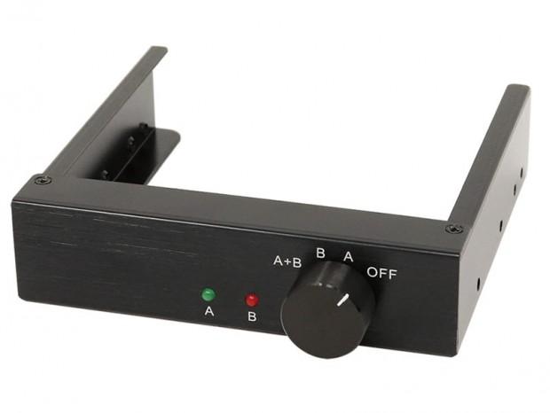 アイネックス、計4台のSSD/HDD電源が切り替えできる3.5インチベイ内蔵電源セレクタ