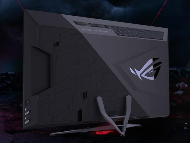 120Hzの高速描画に対応する43インチ4Kゲーミング液晶、ASUS「ROG Strix XG438Q」